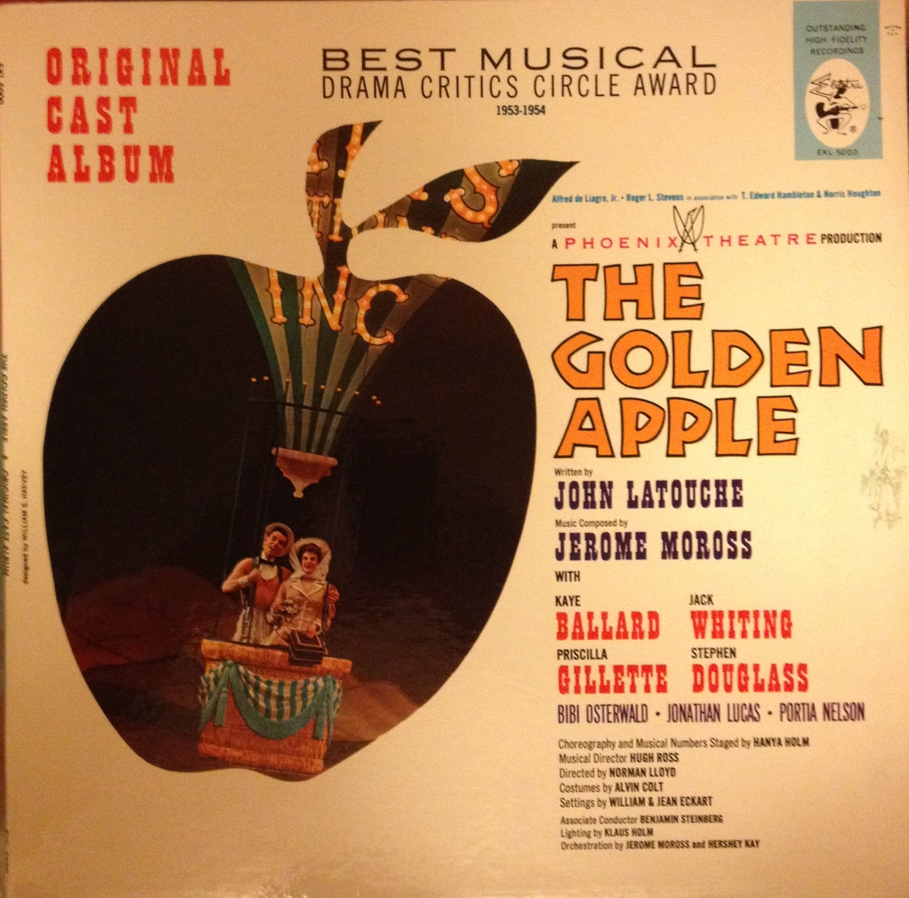 "Musicals That You Should Have Heard Of: ""The Golden Apple"""