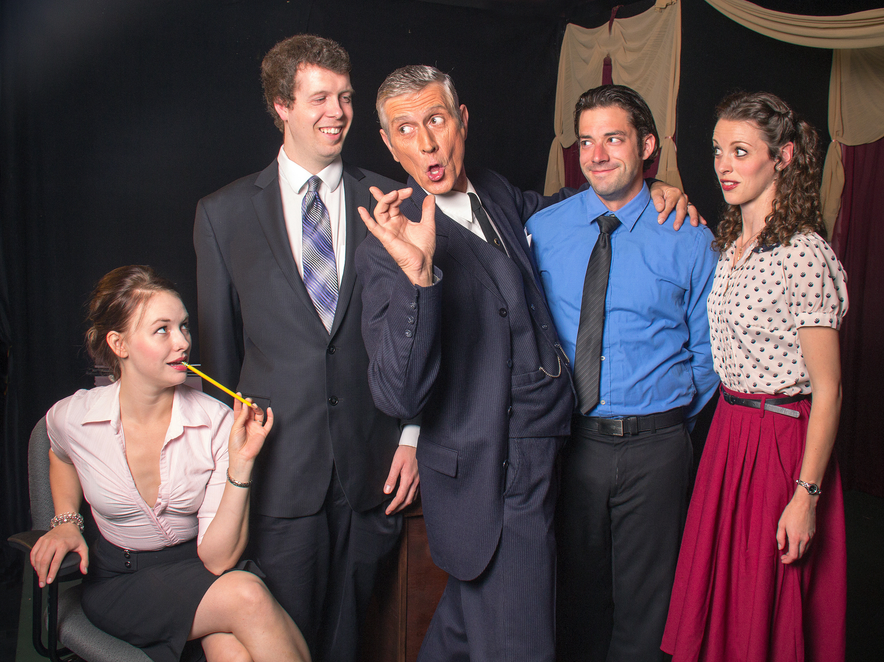 """Selling Love"" Sells Laughs, Soap at the Elite Theatre"