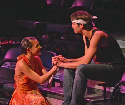 "Agoura High School's Kendall Mordetzky talks about ""Godspell"""
