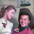 "Shirley Jones (Laurey) and Gordon MacRae (Curley) in the 1955 film version of ""Oklahoma!"""