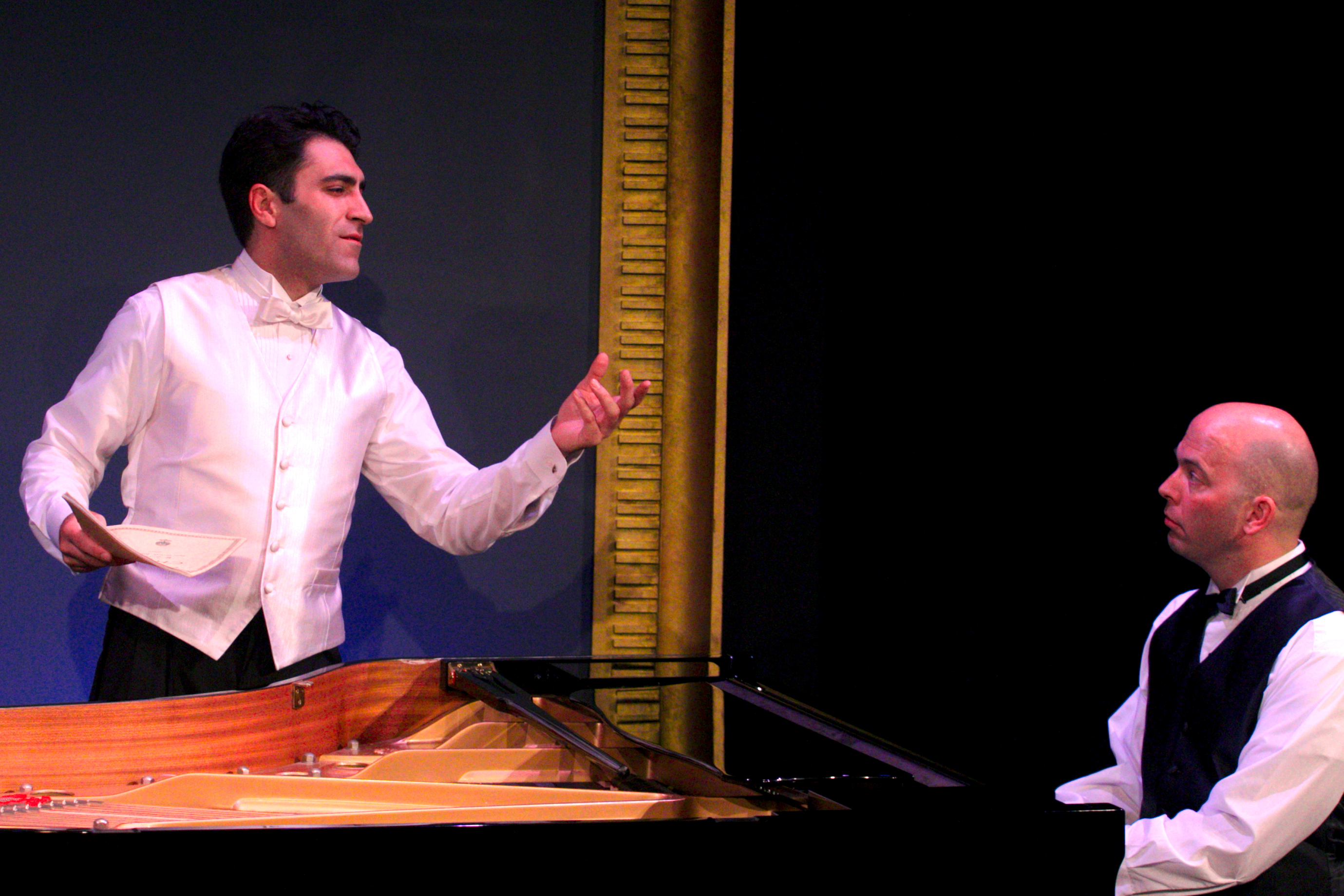 2 Pianos, 4 Hands Summons Up Universal Memories of Piano Lessons