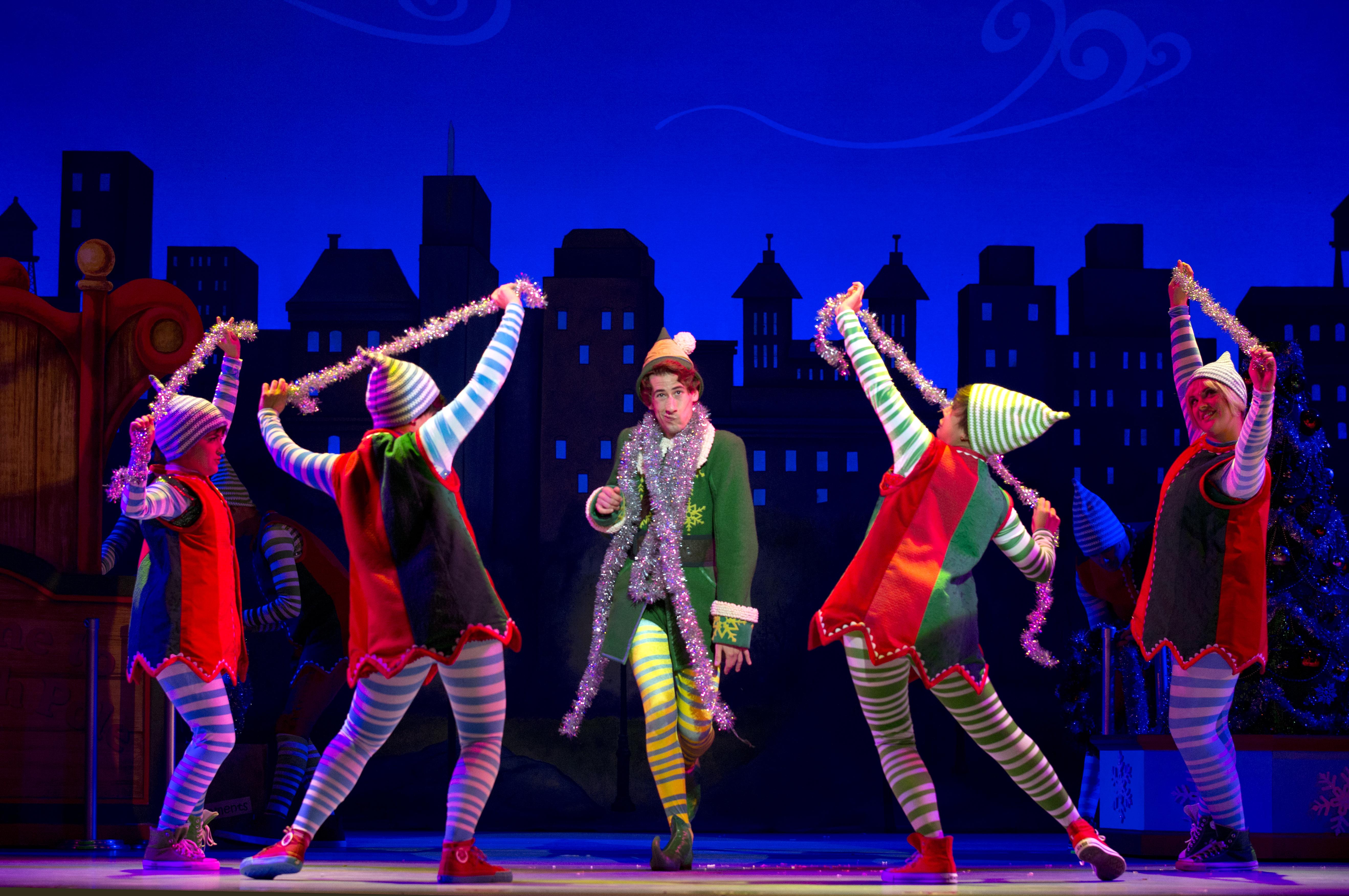 """Theater League's """"Elf"""" Is Sparklejollytwinklejingley Fun"""