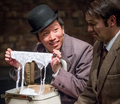 """The 3 Masketeers Make the Most Out of the Least in """"The 39 Steps"""""""