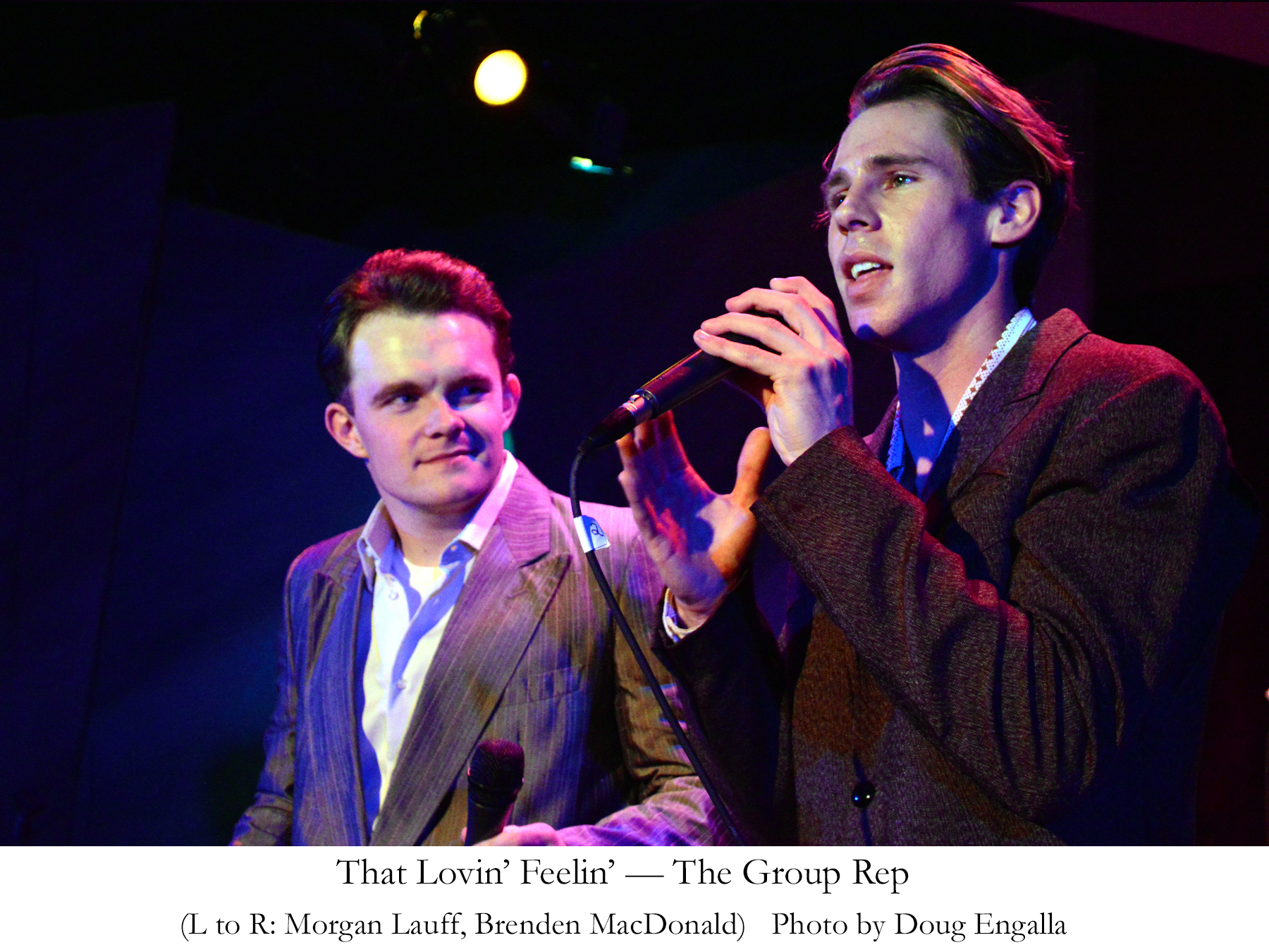 CLU Grad Now Playing Bobby Hatfield in New Righteous Brothers Musical