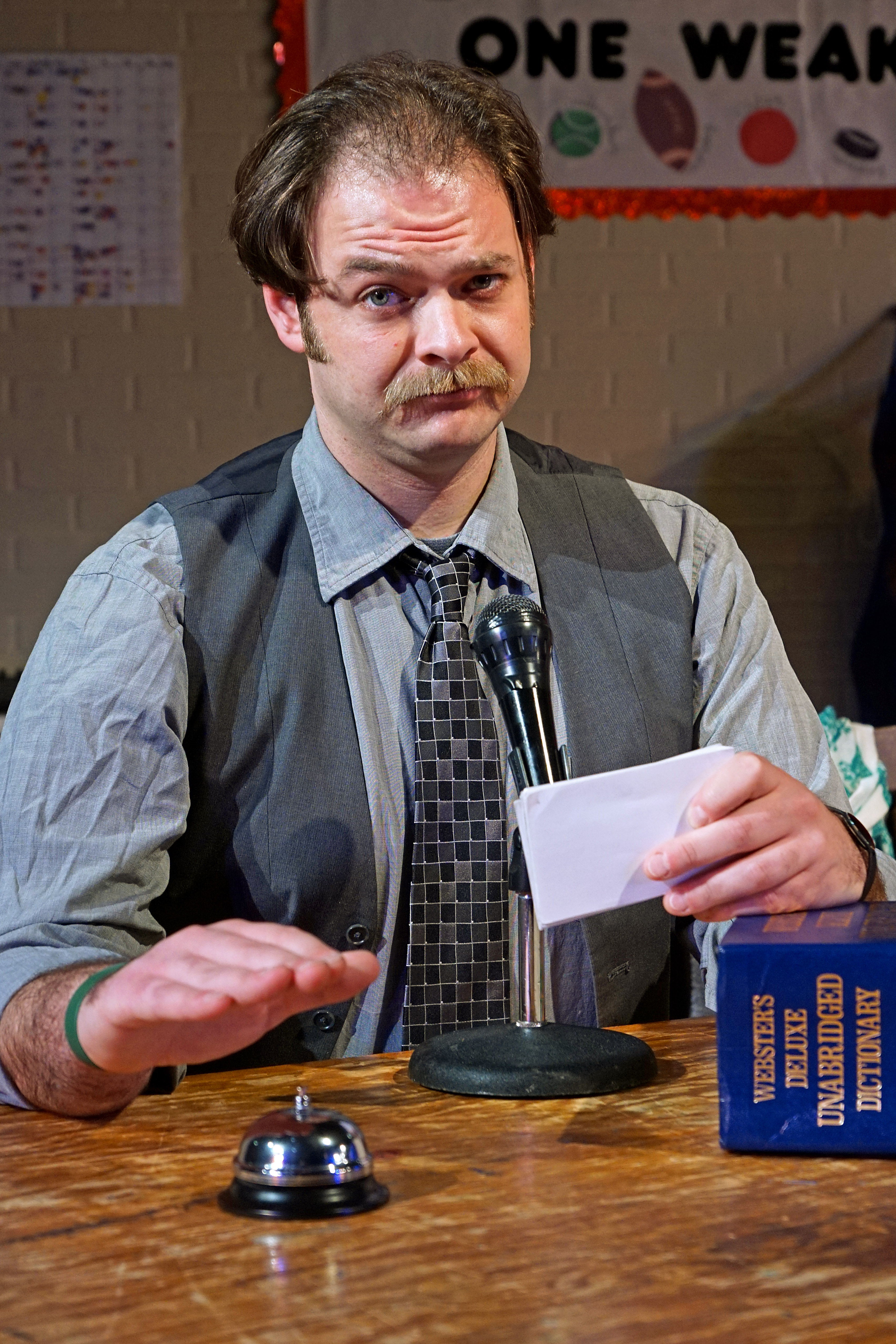"""Michael Fischer Reveals Improv Techniques in """"The 25th Annual Putnam County Spelling Bee"""""""