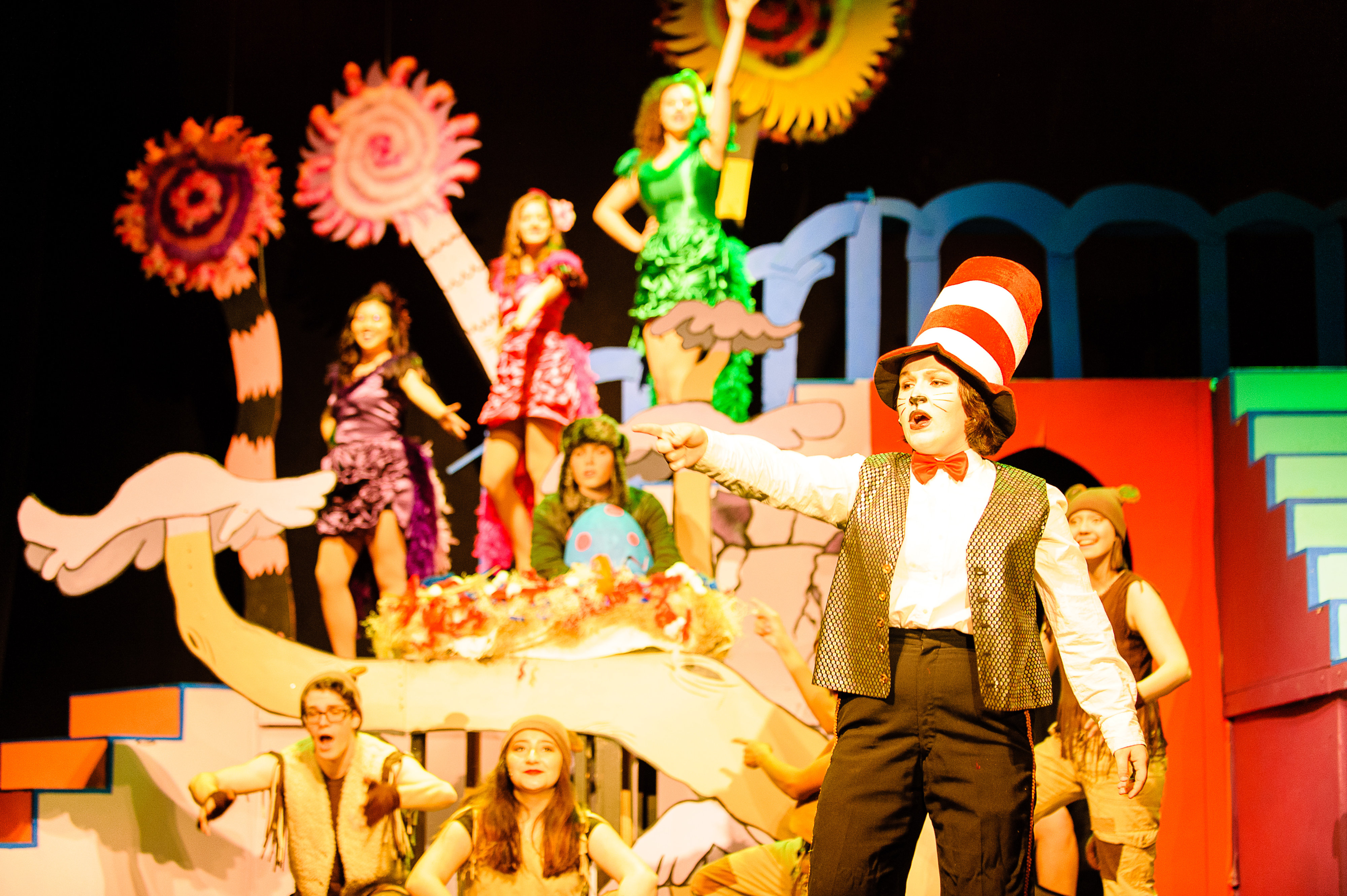 """Seussical the Musical Jr."" at Santa Su-sical"