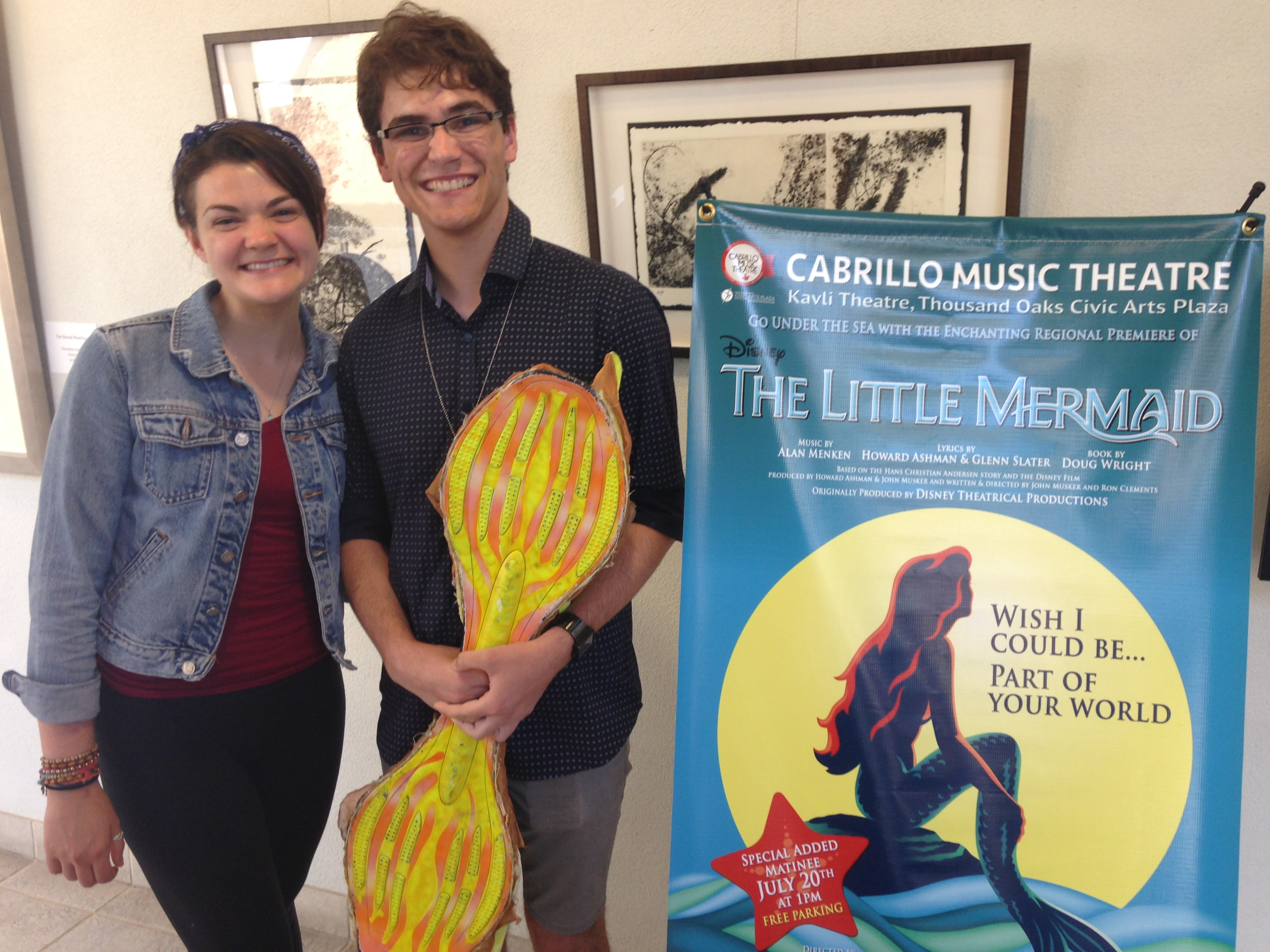 "Local Teens Dive Into ""The Little Mermaid"""