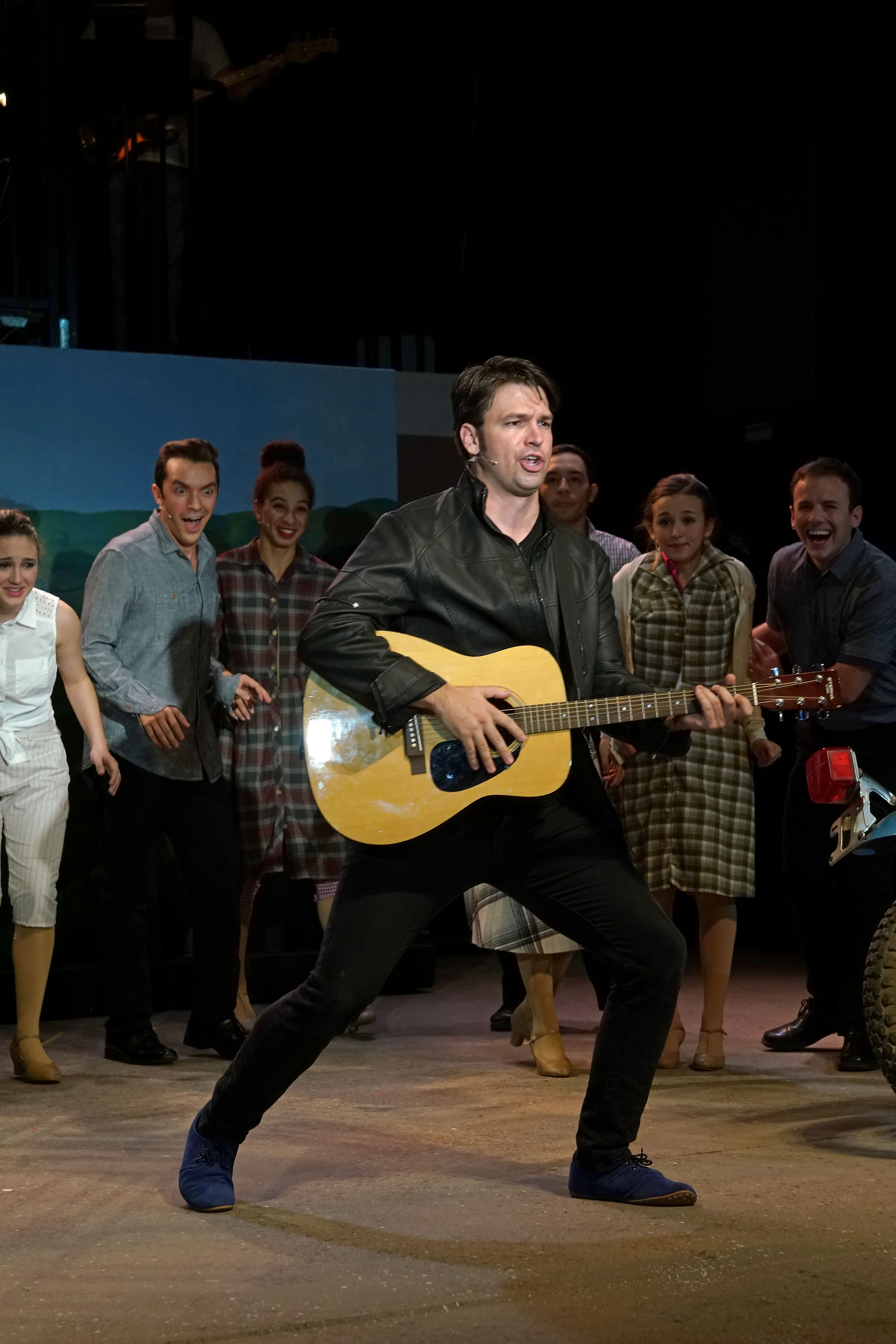 """All Shook Up"" Charms Simi Audiences With Elvis Pop Catalog"