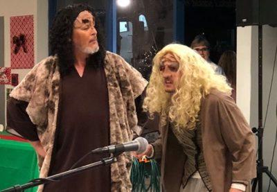 Talking With SQuja' and DaHjaj qeylIS qa'- A Klingon Christmas Carol, Part 3