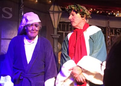 """Scrooge"" – Charming Holiday Musical In Rustic Chatsworth Setting"