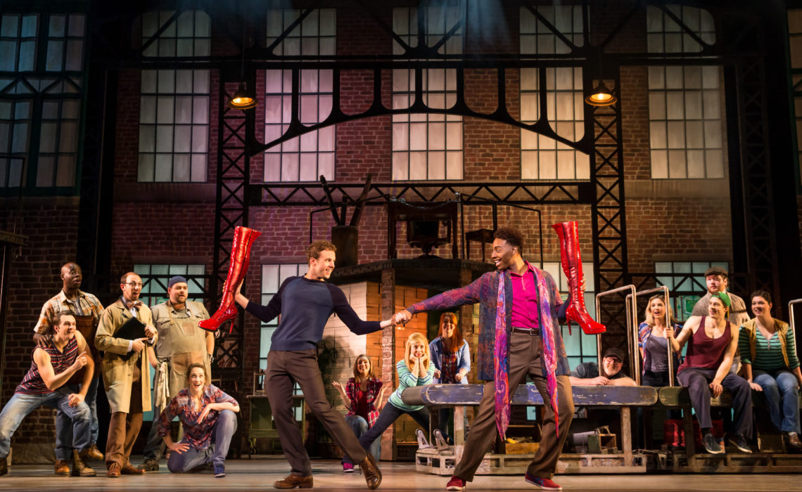 """""""Kinky Boots"""" Kicks Up Its Heels In Theater League's National Tour"""