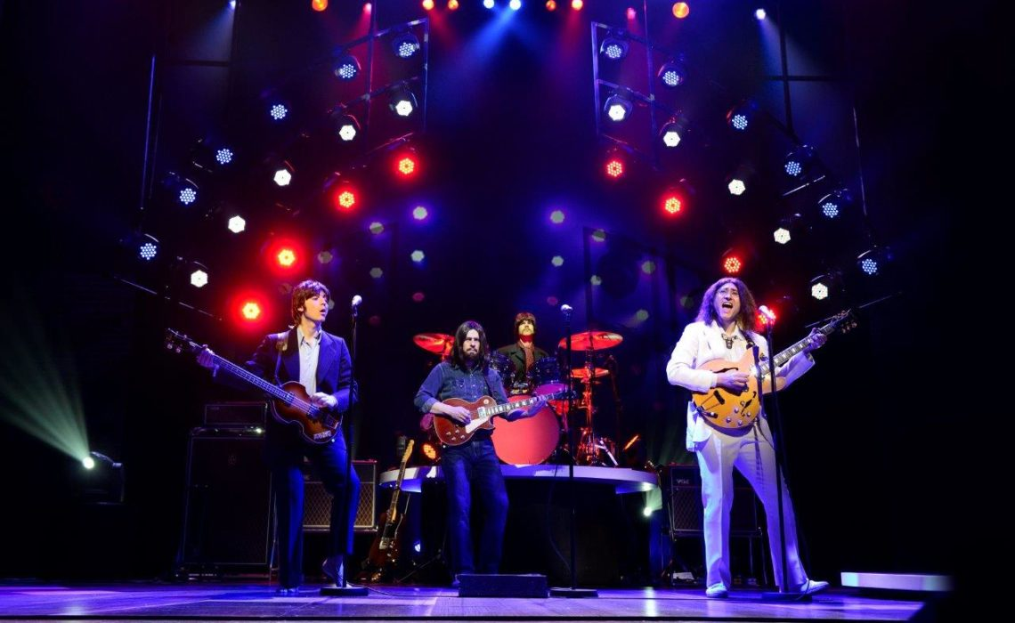 "Beatles Tribute Adds New Twist: A Fab Four ""Reunion"""