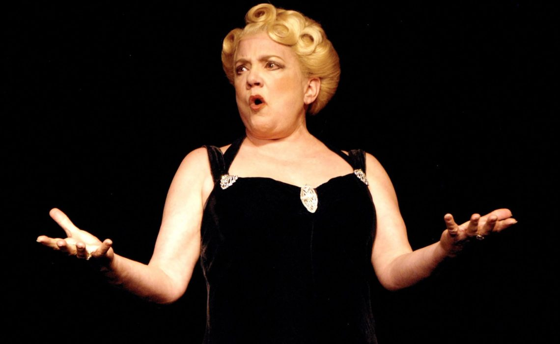Sharon McNight Stars As Sophie Tucker At The Rubicon