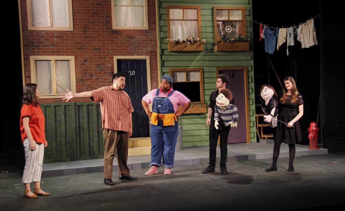 """""""Avenue Q"""" Has Message To Go With Its Mirth"""