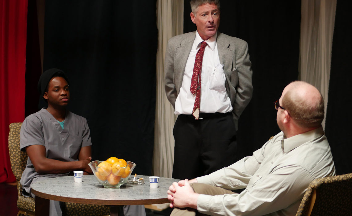 """Blue/Orange"" Blurs Reality & Madness In Tense Trialogue Play"