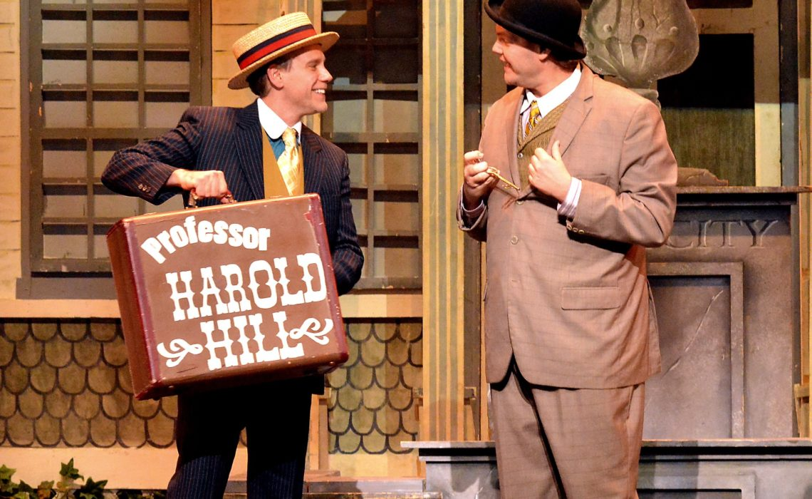 """Trent Mills Talks About Comedy And Playing Marcellus In """"The Music Man"""""""